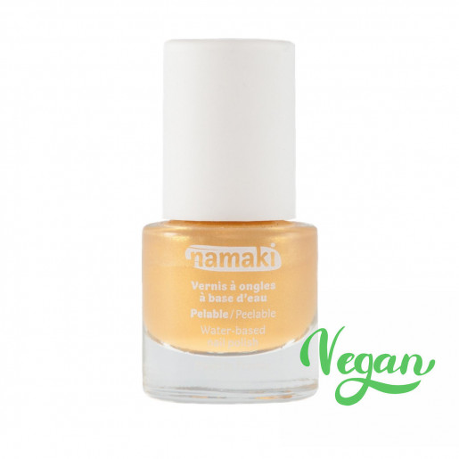 Vernis à ongles pelable | Or | Namaki