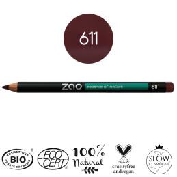 Crayons | Pourpre 611 | Zao Makeup