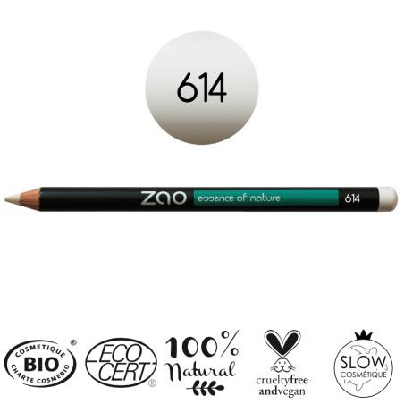 Crayons   Blanc 614   Zao Makeup